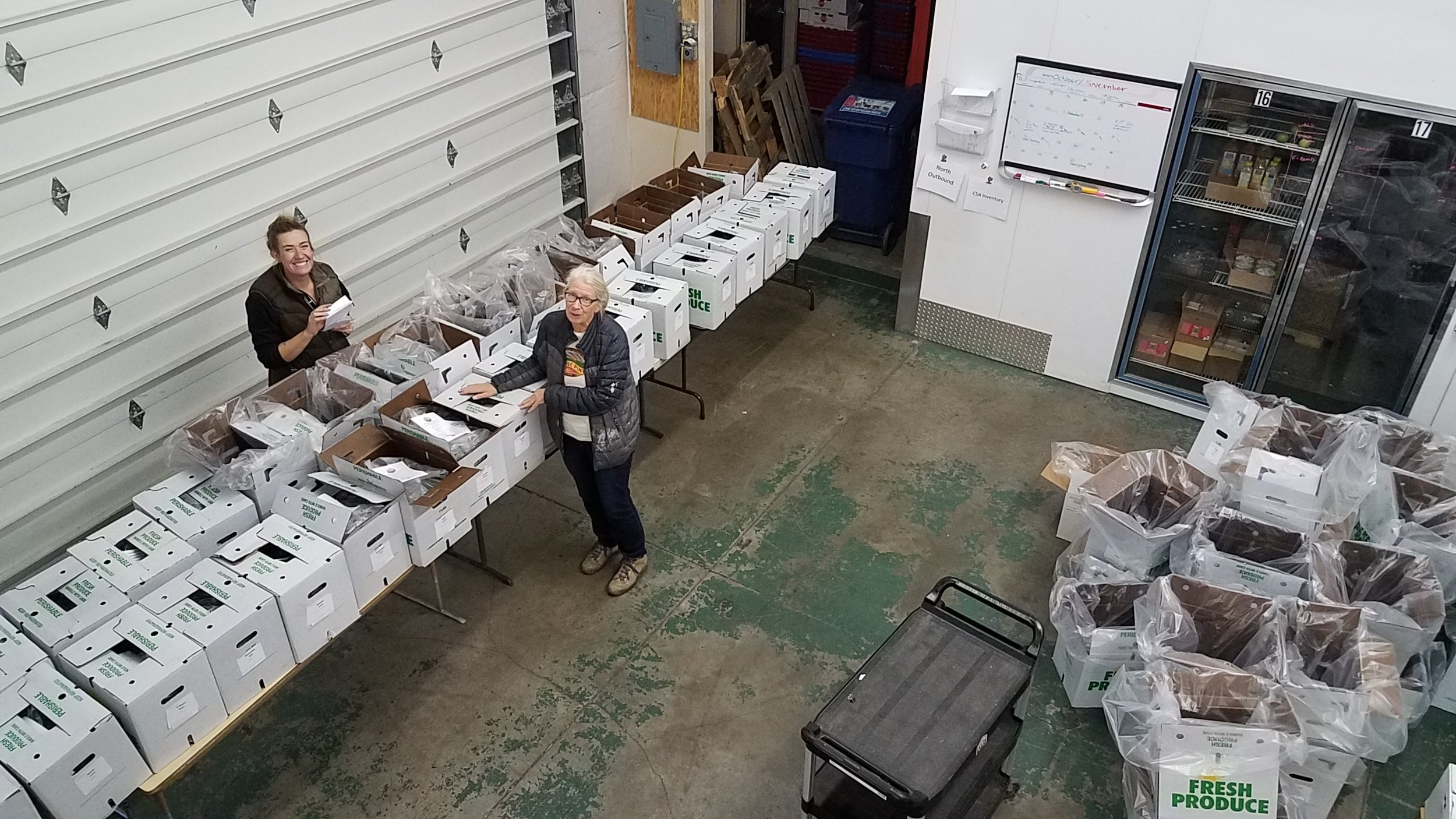 Each LINC Box is lovingly hand-packed by LINC Foods co-founder Beth and her mom, Ellen.