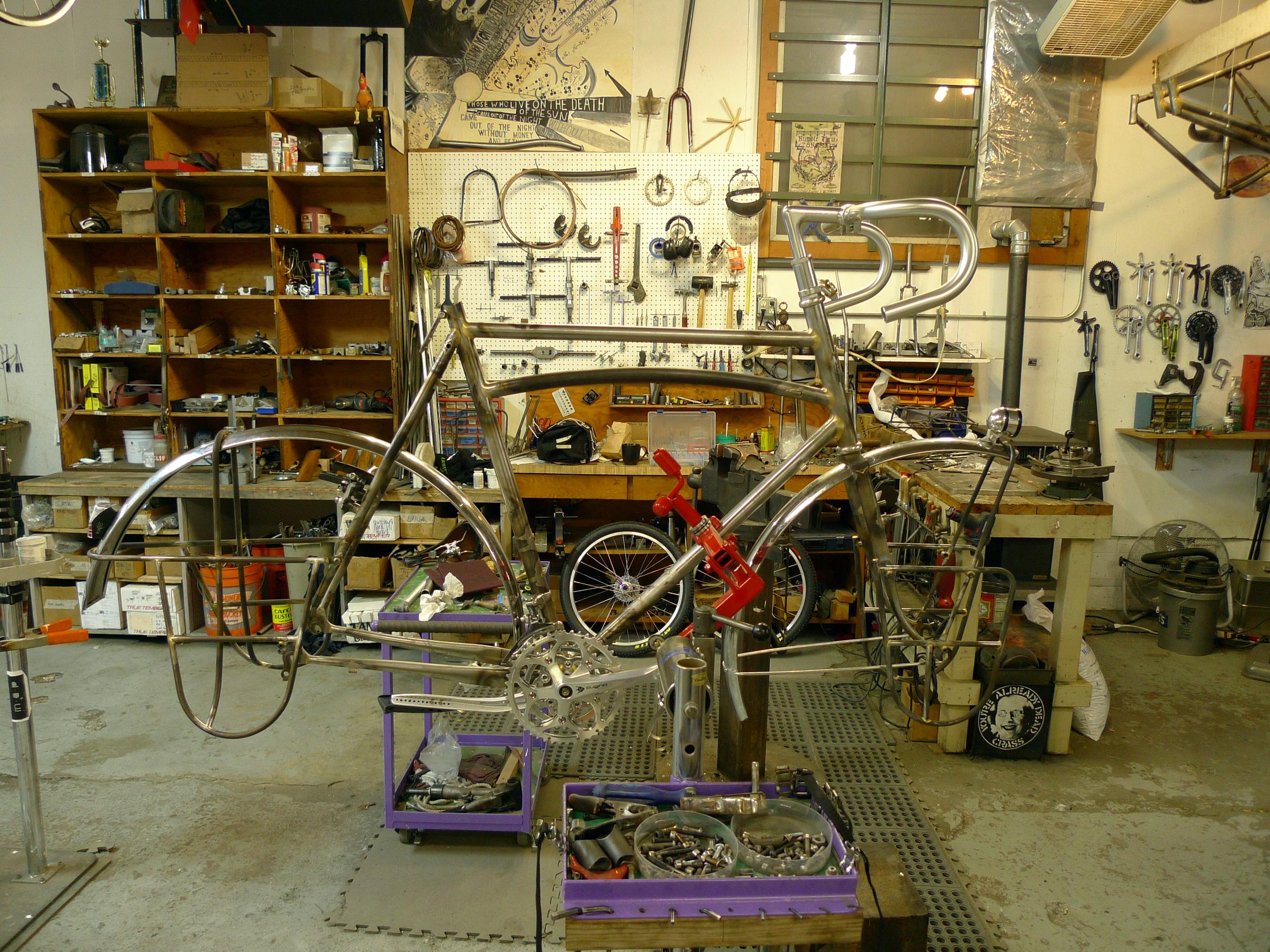 Raw Bike in Process