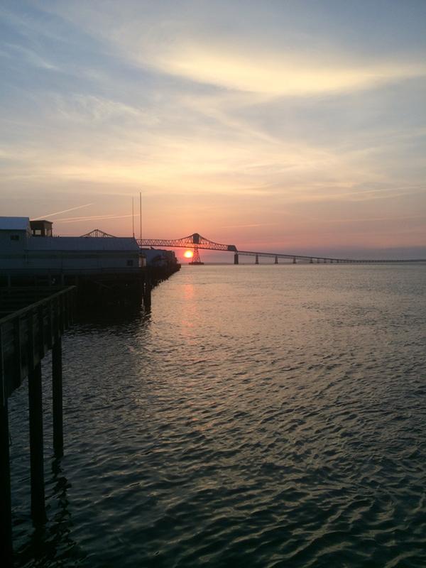 Sunset in Astoria