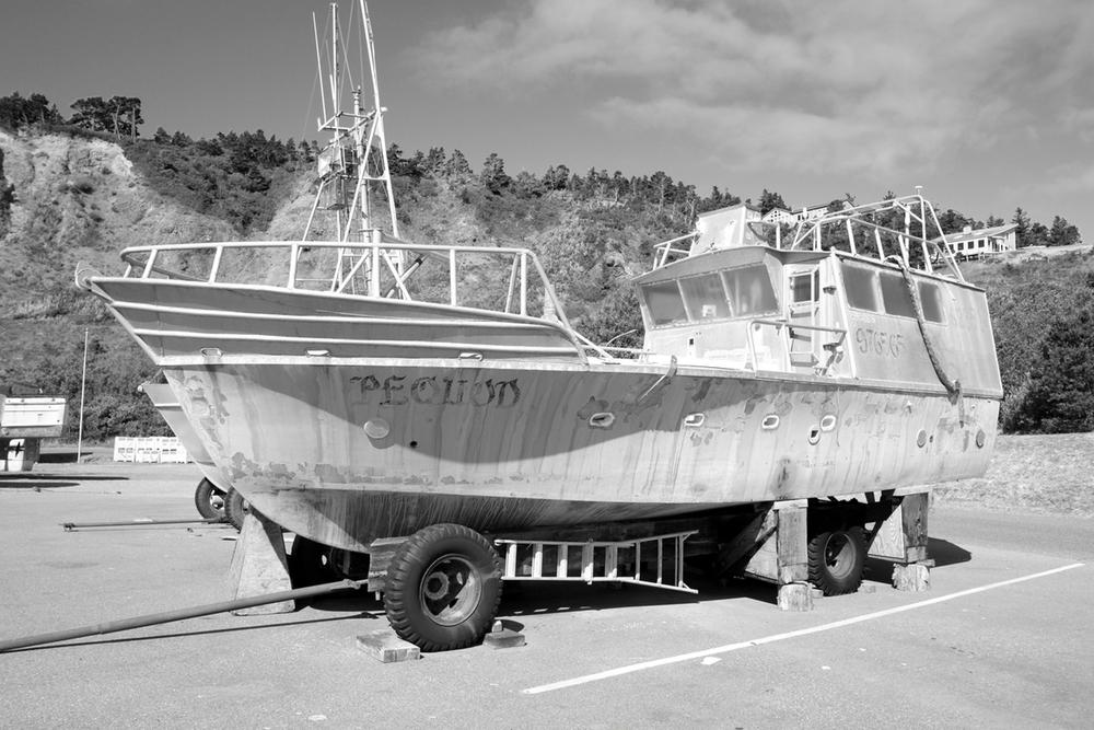 Pequod is a boat on wheels