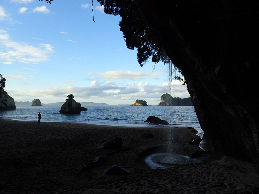 Late Afternoon at Cathedral Cove