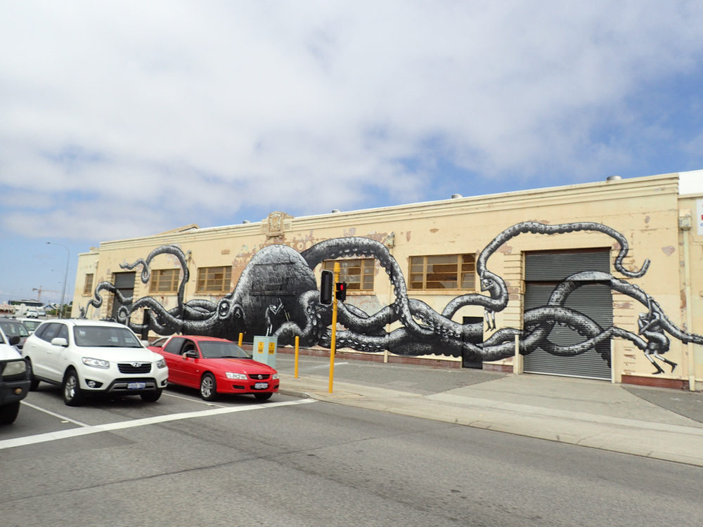 Street Art in Freo