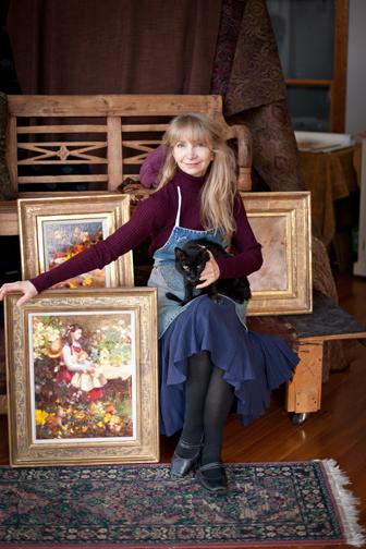 Nancy Guzik with Max