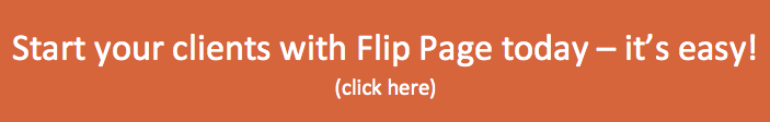 Resellers: Flip Page is an easy, valuable addition to your portfolio - no tech experience necessary!