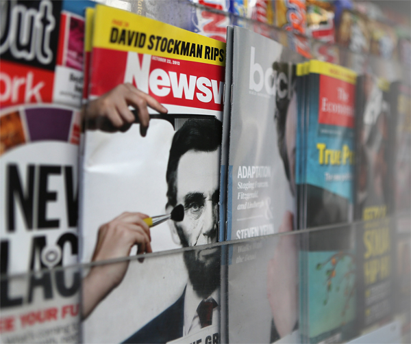 Physical newsstand sales may be in decline but the digital newsstand has not figured out the rules of succession.