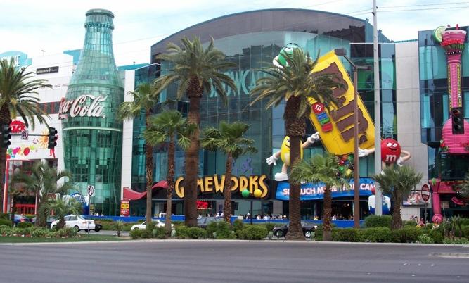 The Coca-Cola Store in Las Vegas