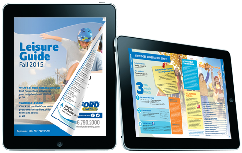 Flip Page digital recreation guides can be delivered to desktop and mobile via a browser experience or to mobile readers via a native App.