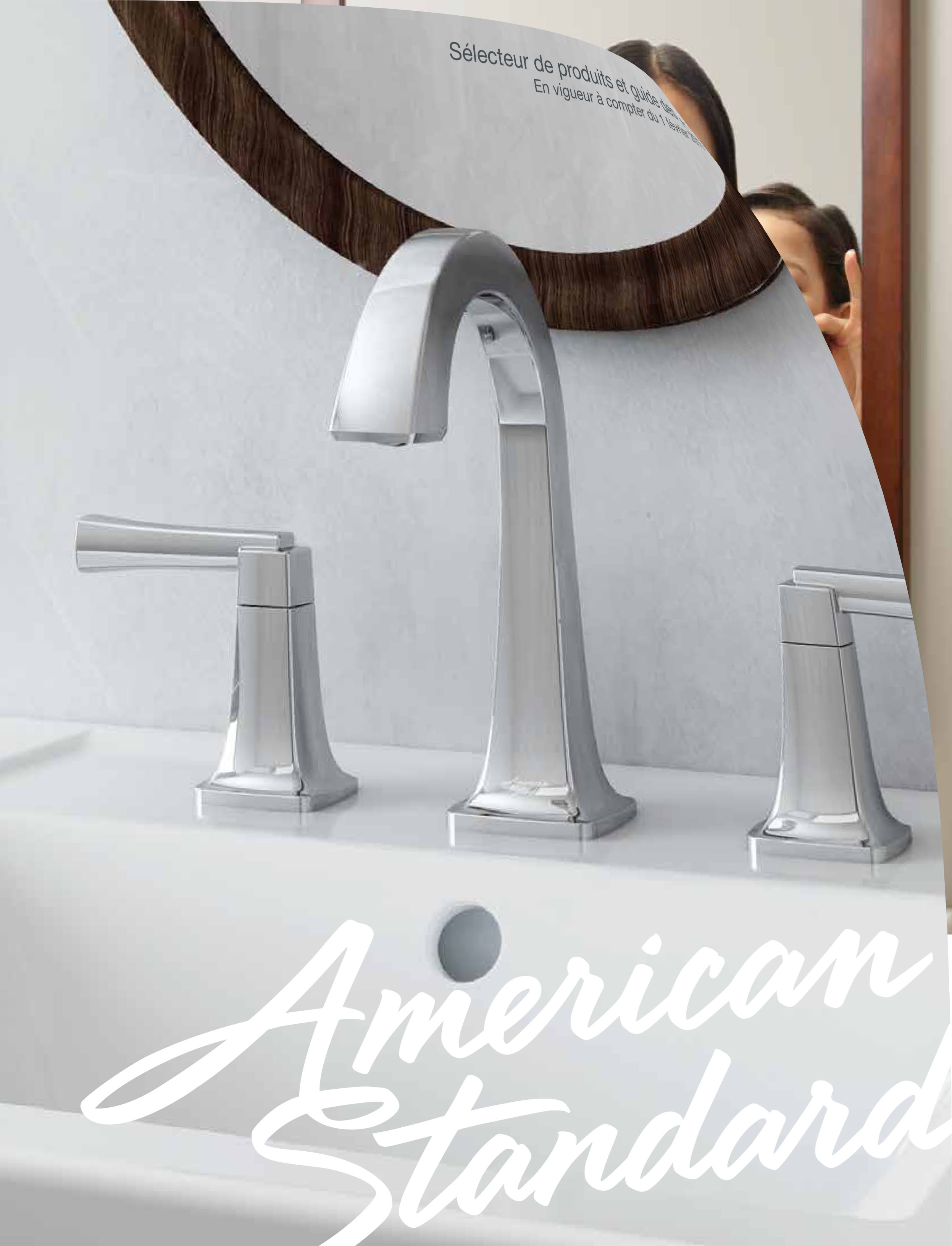The American Standard Product Selector and Pricing Guide. Available in ENG and FRE languages.