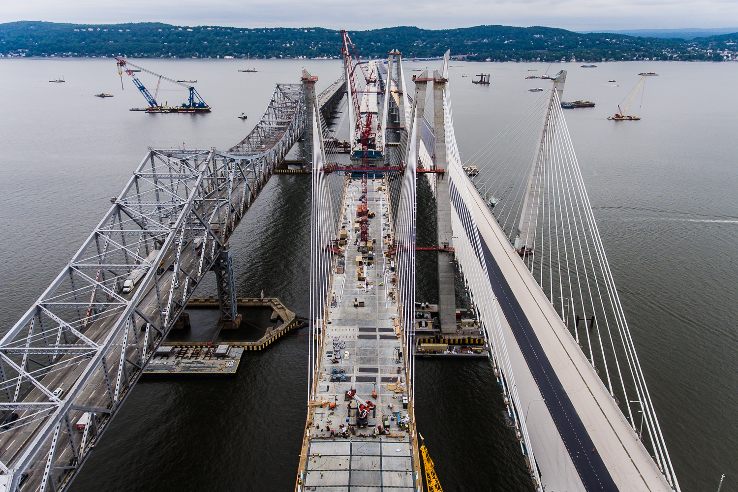 Construction Photography Tappan Zee Bridge