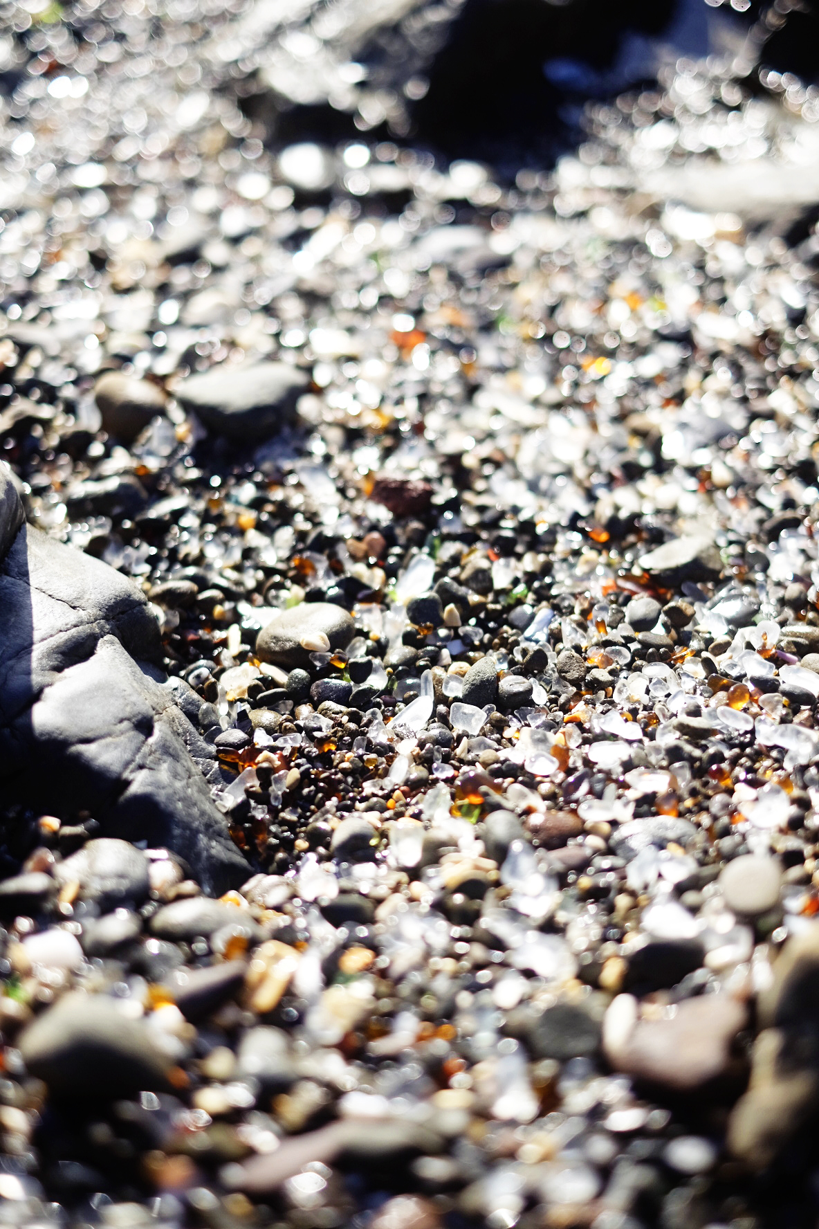 Glass Beach - Fort Bragg, California