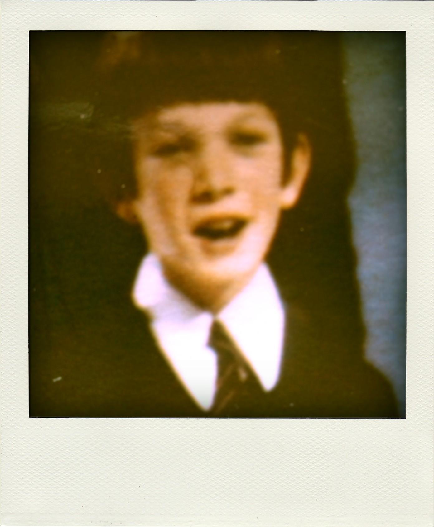Singing on the TV, September 1971
