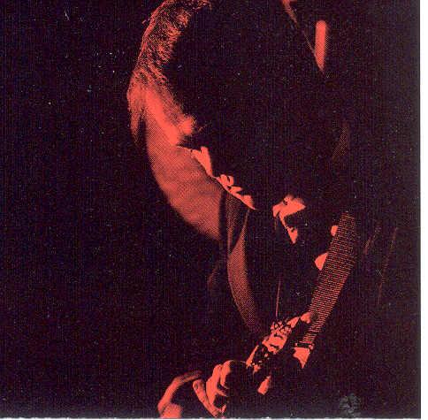 Playing mandolin with Arthur H, Paris 1996