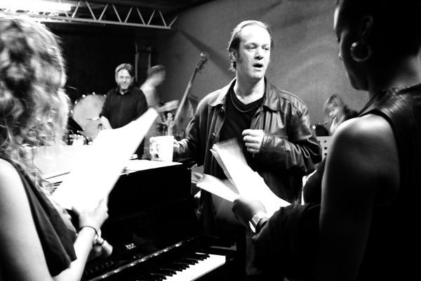Rehearsing Plague Songs, Autumn, London 2006