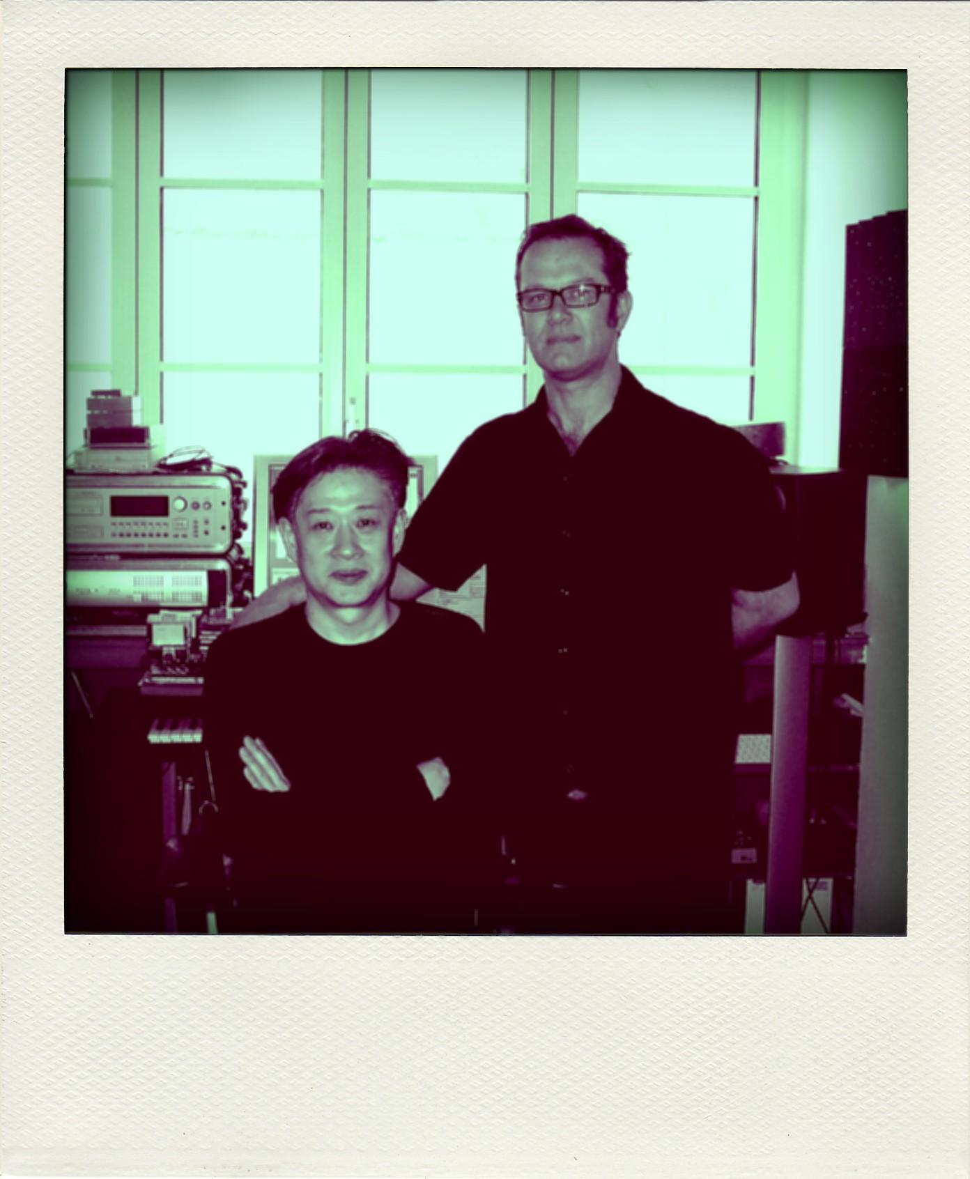 With Jun Miyake, Paris 2007