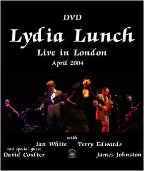 With Lydia Lunch, London, April 2004