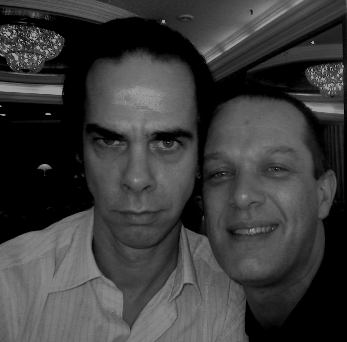 With Nick Cave, Sydney, January 2005