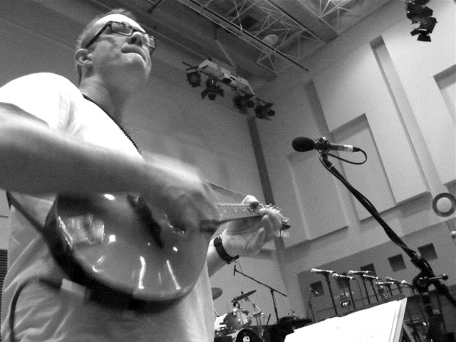 Rehearsing for Rogues Gallery. Sydney, 2010