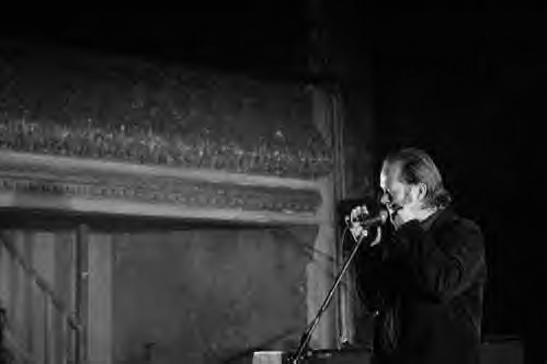Opening act for The Good The Bad and The Queen, Wilton's Music Hall, London, December 2006