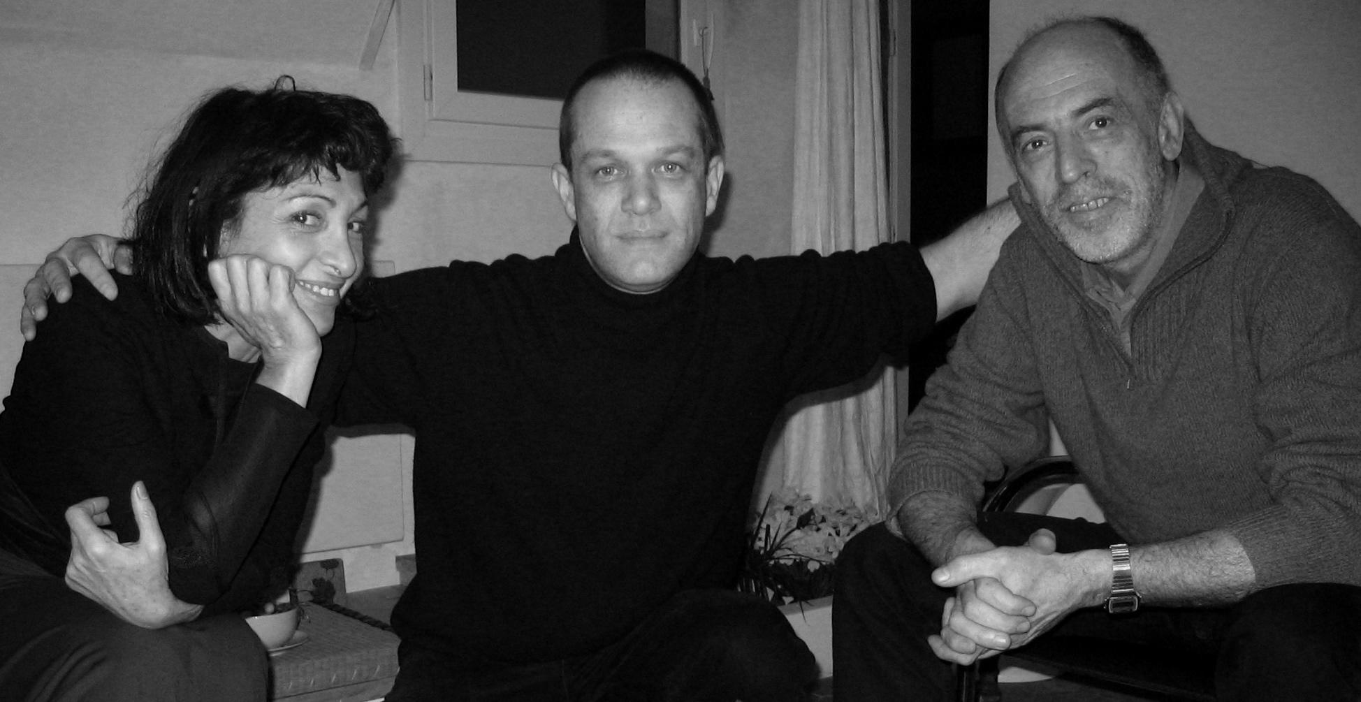 With Eve Couturier (EC#) and Palix. Paris, 2005