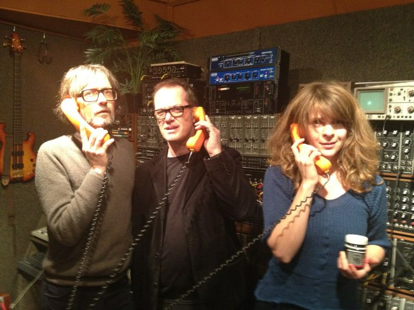 Recording with Jarvis Cocker and Serafina Steer
