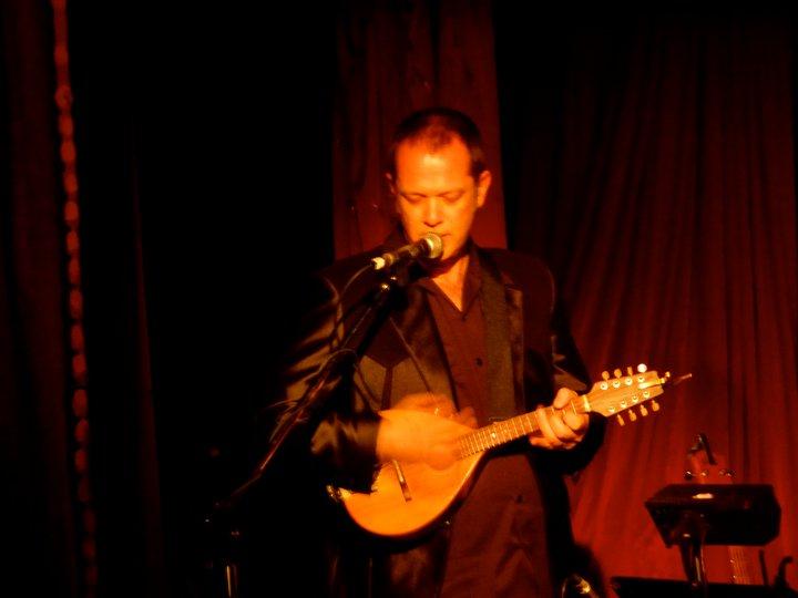 Playing with Tim Robbins. Toronto. July 2011