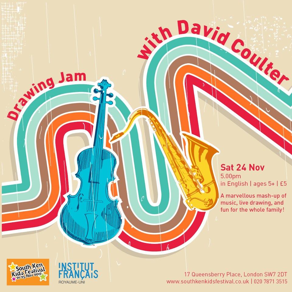 Solo concert for South Kensington Kids Festival. November 2012