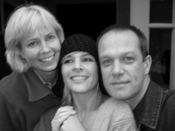 Joan Jeanrenaud and Madigan Shive. San Francisco, September 2004