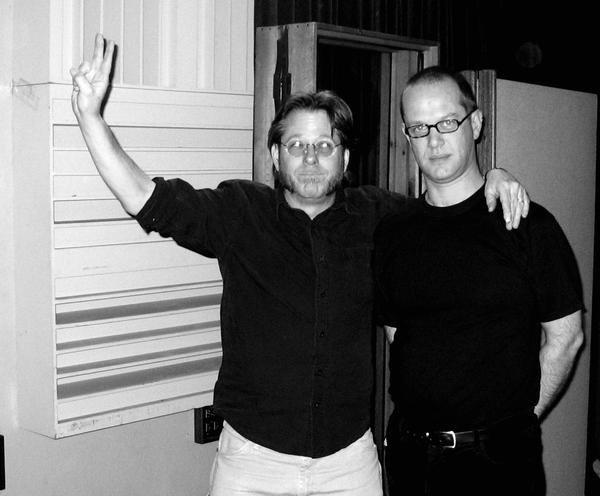 With Ralph Carney. Hyde Street Studios, San Franscisco. February 2005