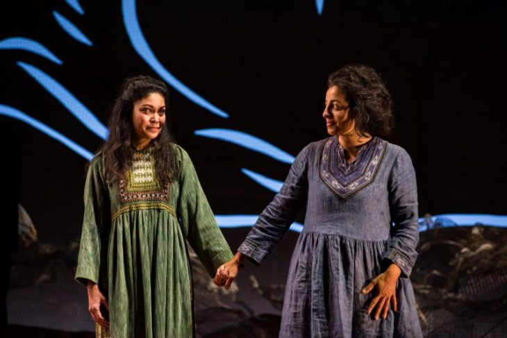 Rinabeth Apostol (Laila) and Denmo Ibrahim (Mariam)