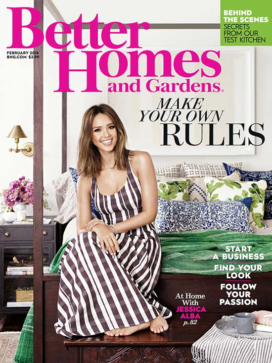 BETTER HOMES AND GARDENS FEB. 2016