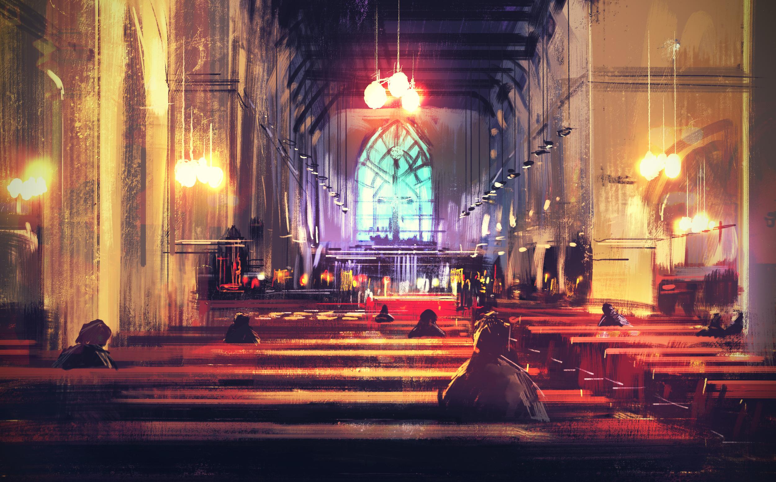 Sleeping Church - shegznstuff
