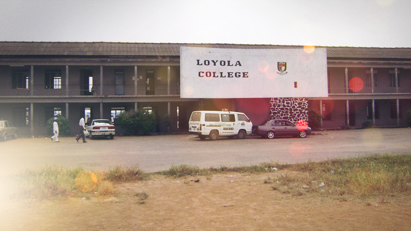 """Loyola, Loyola, the Best in every way. Loyola, Loyola, you always win the day! We are students, from Ibadan town.. Tanana Nanana"""