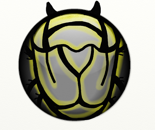 locked beetle-like carapace