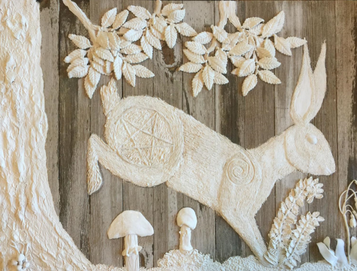 Spring Hare with Pentagram by Loren Morris.png