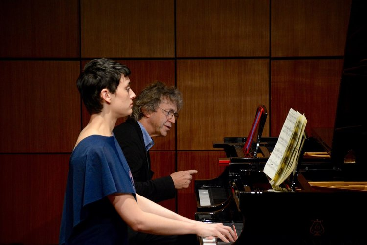 Master class with Pascal Rogé at Steinway Hall