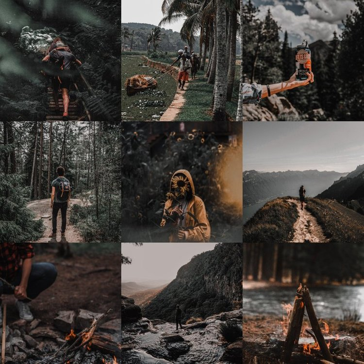 Basic Dark Presets - 5 Lightroom presets compatible for desktop which stunningly enhances your photos such as travel, indoors, and outdoors. The different tones includes different vibes.