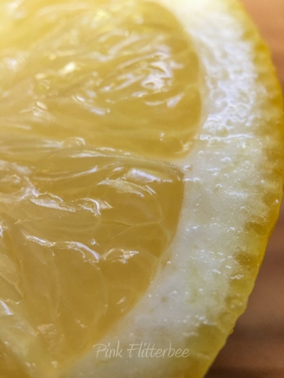 Lemon - a beautiful thing!