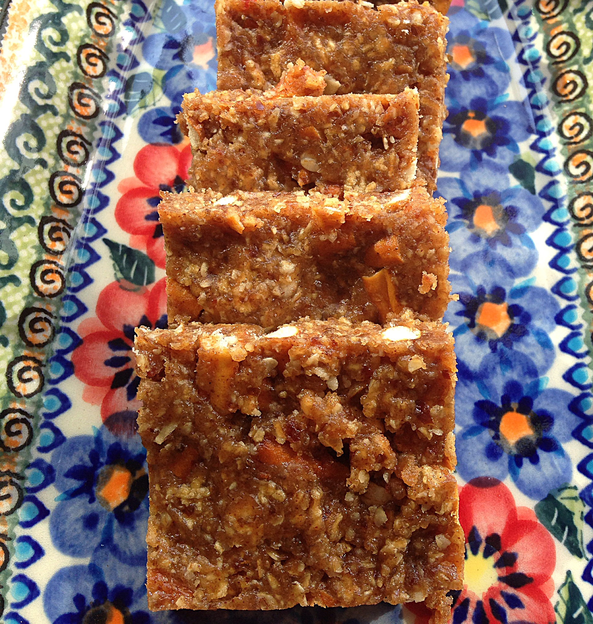 Sweet & Salty Squares, made with almond butter and gluten free pretzels