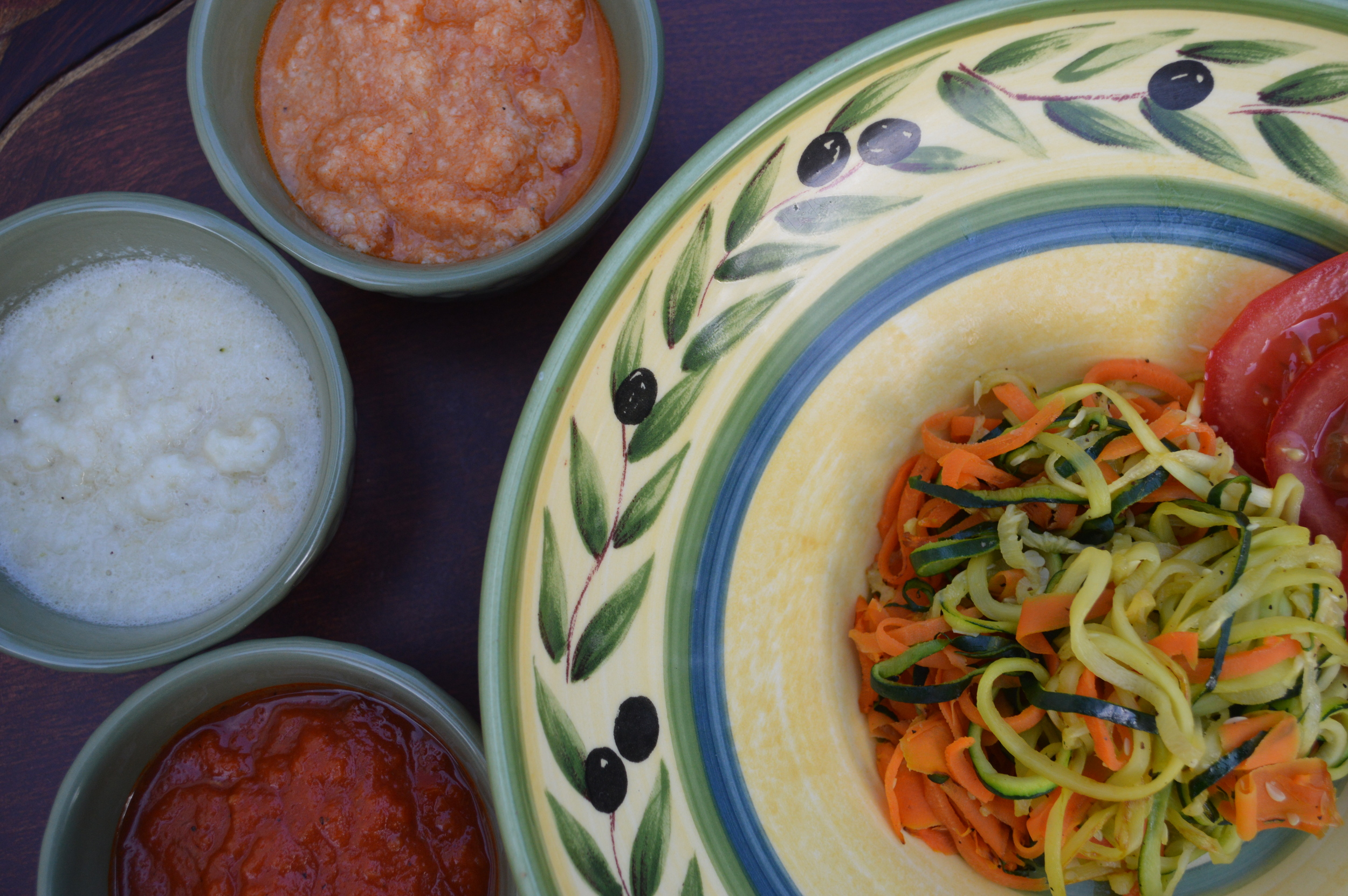 Zucchini & Carrot Noodles