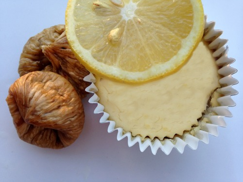 Lemon Cheesecake Bars made with Siggi's Plain Yogurt