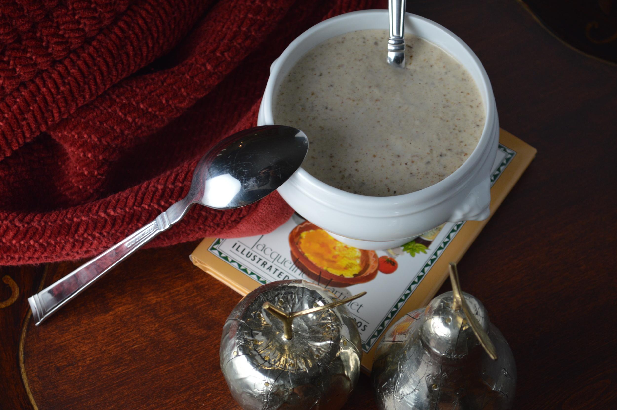 Trail Mix Overnight Oats with Siggi's Plain Drinkable Yogurt