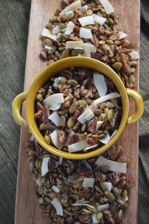Autumn Spiced Seed & Nut Mix