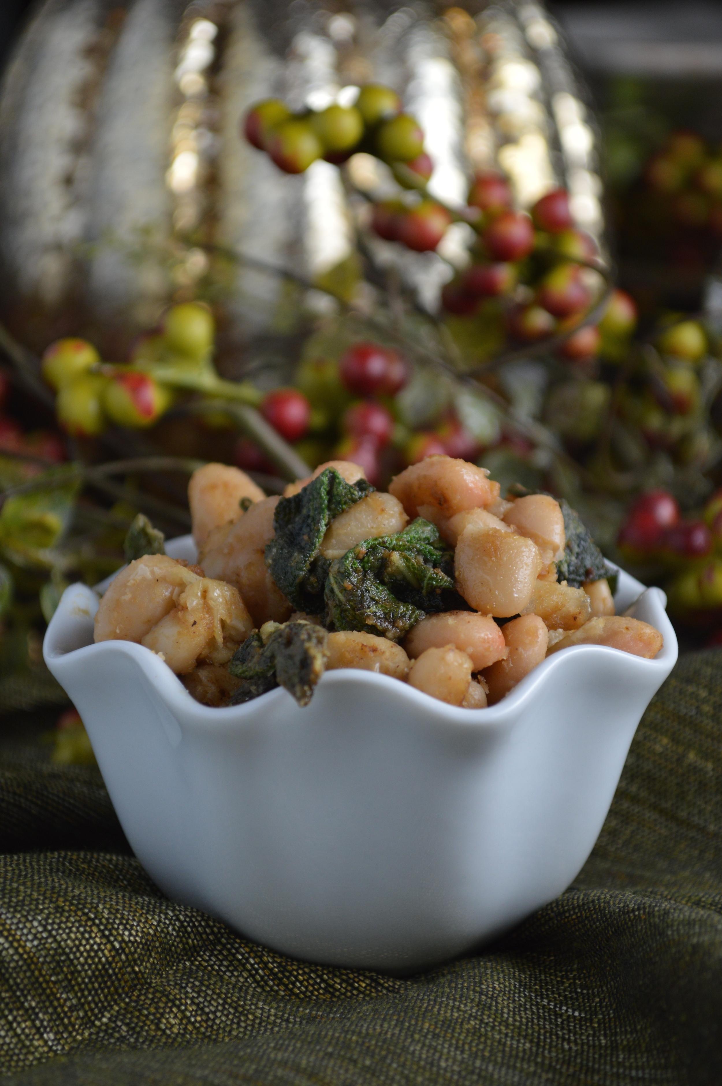 Italian White Beans & Sage
