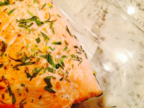 Orange Fennel Salmon