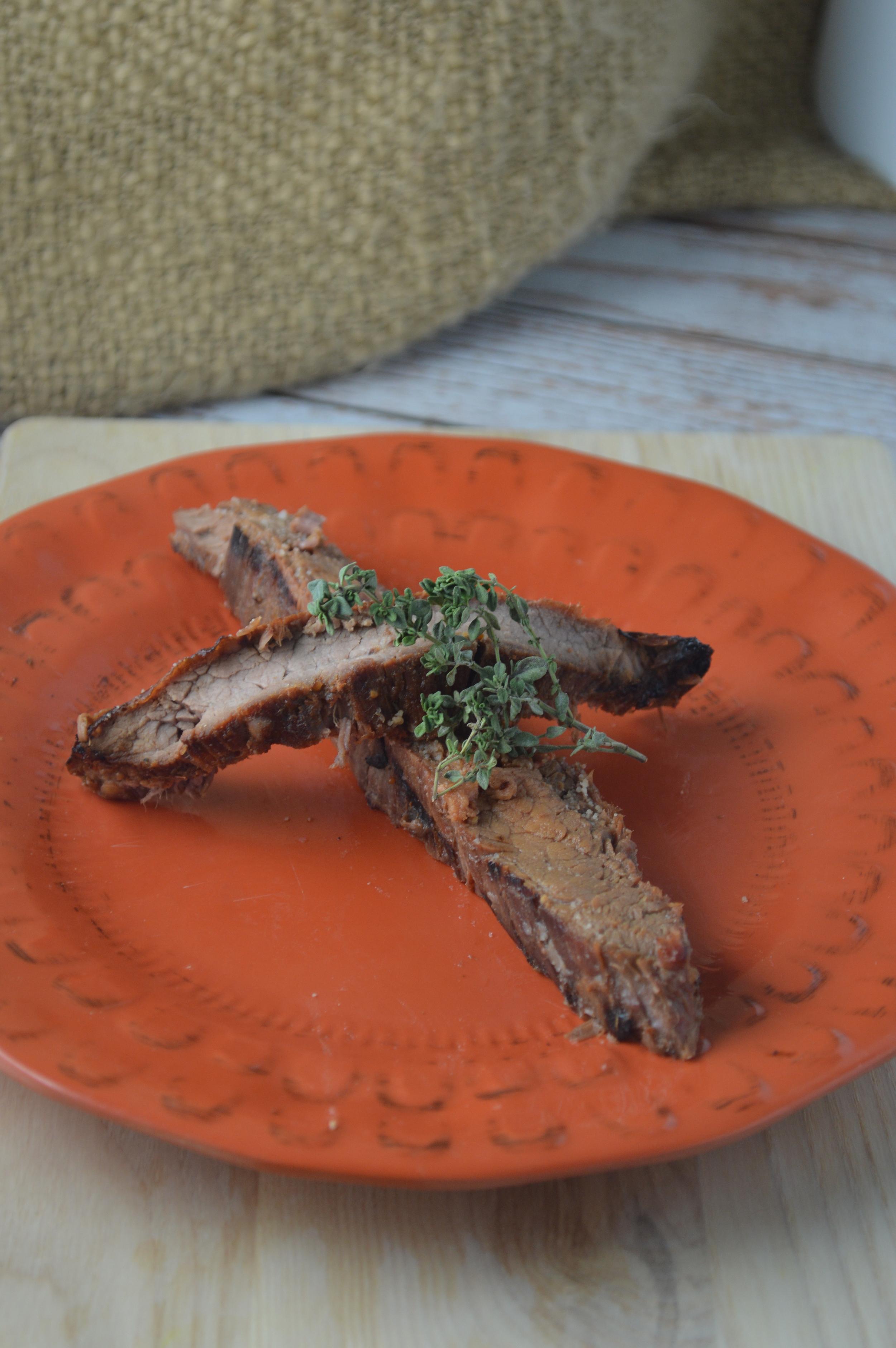 Sweet Orange Flank Steak