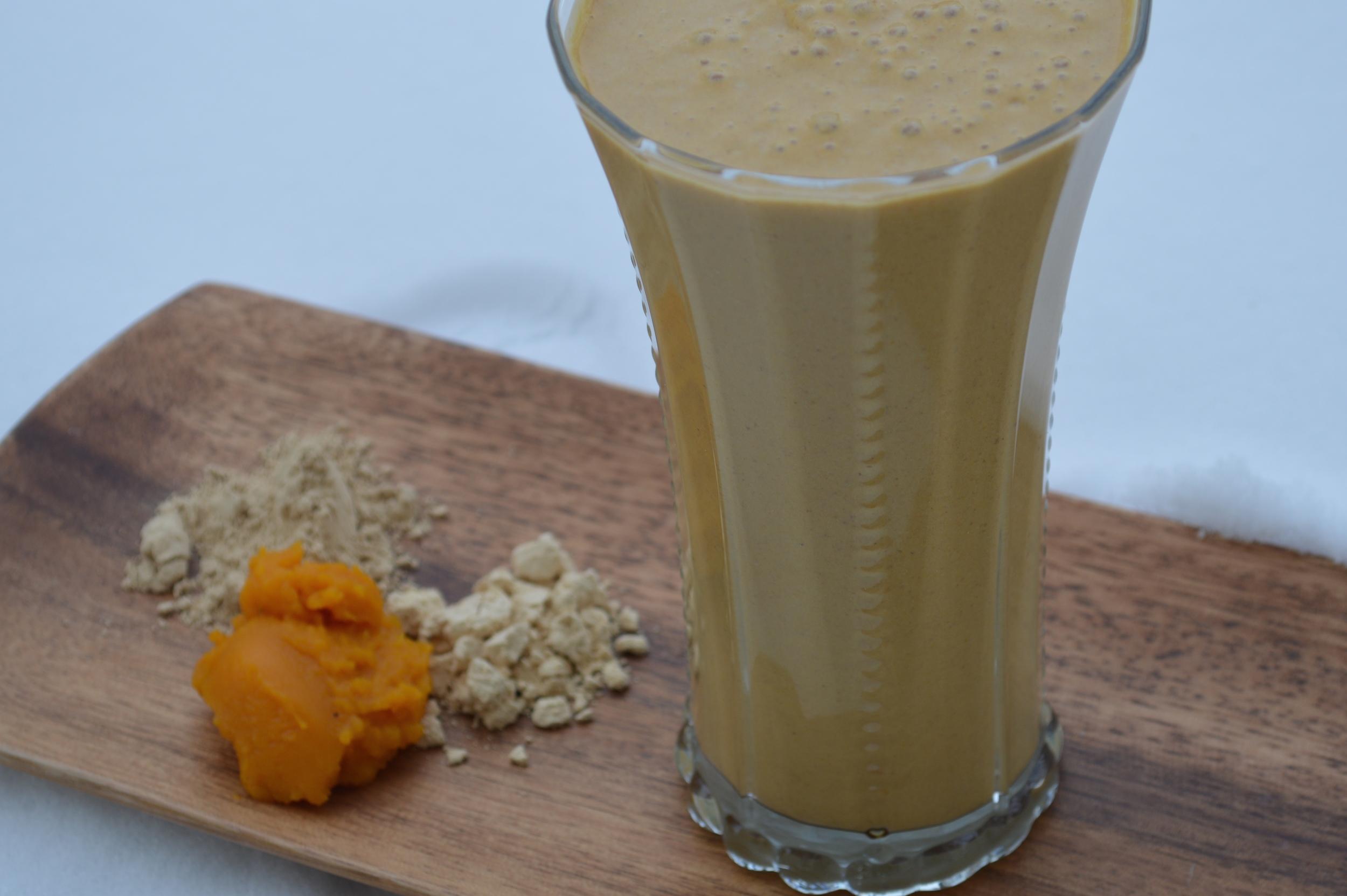 PB Pumpkin Protein Smoothie