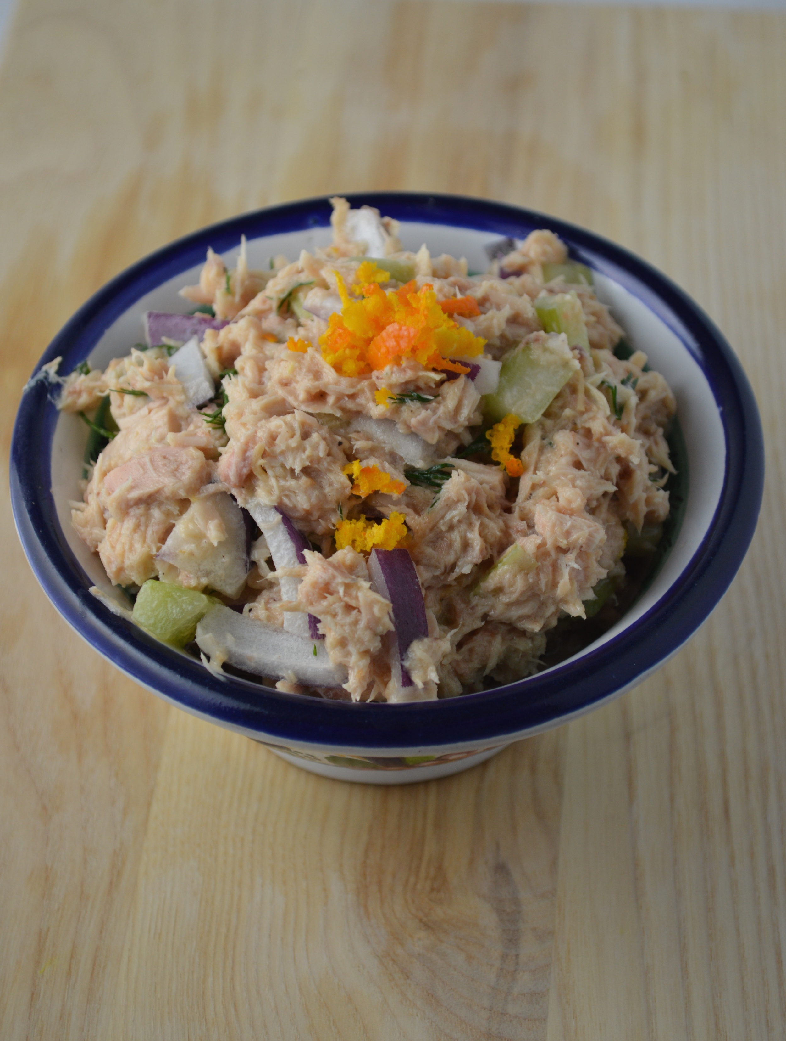 Orange Dill Tuna Salad