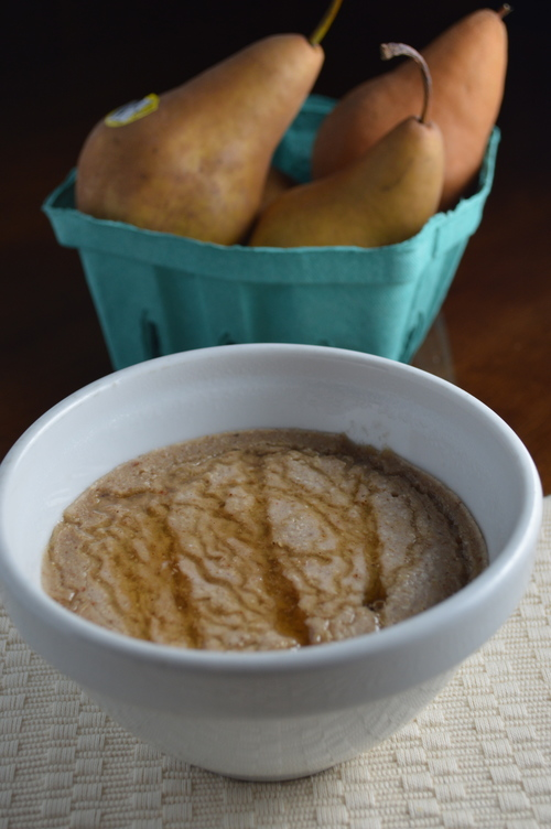 Spiced Pear Overnight Oats