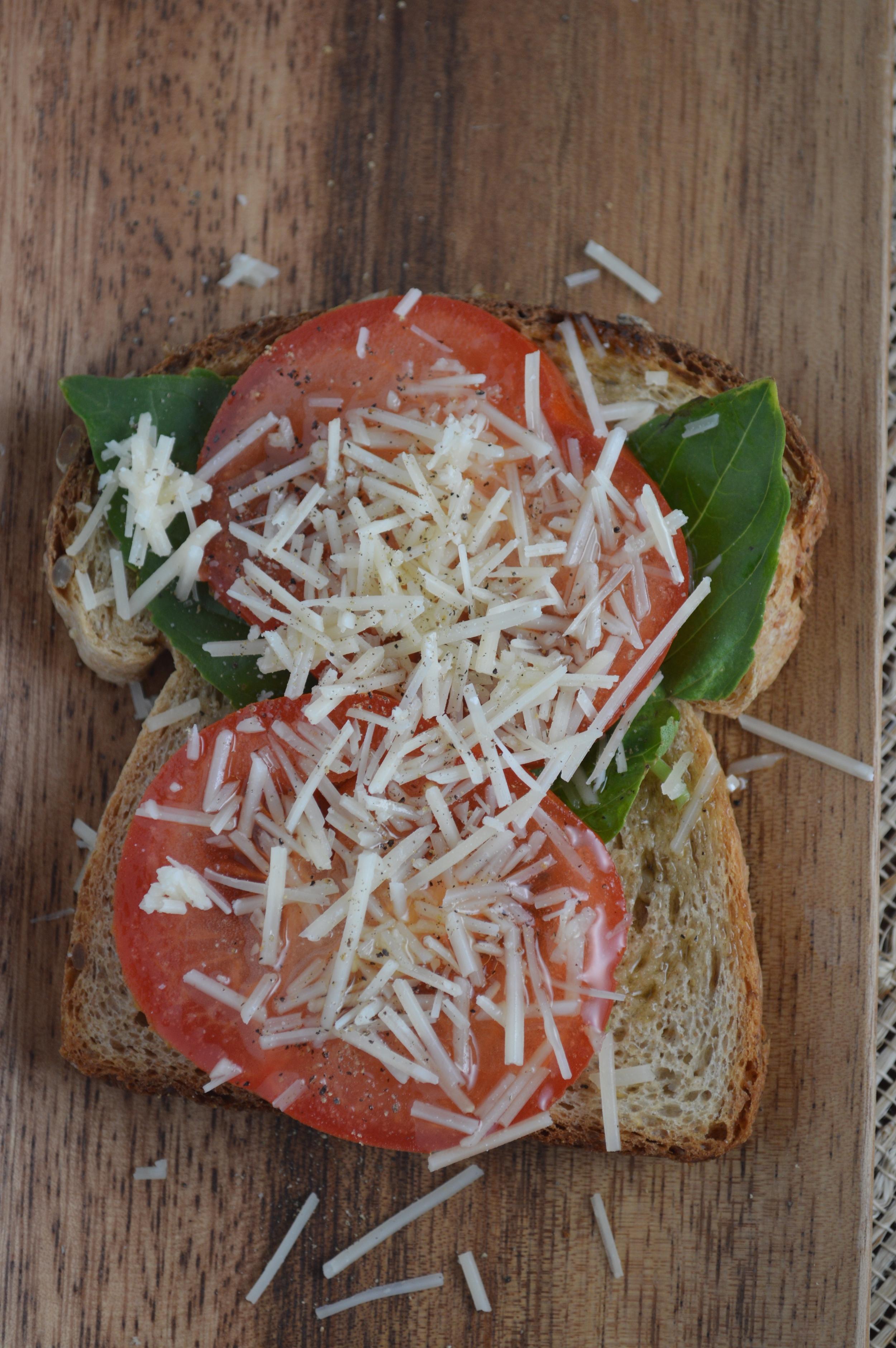 Truffle Tomato Toast