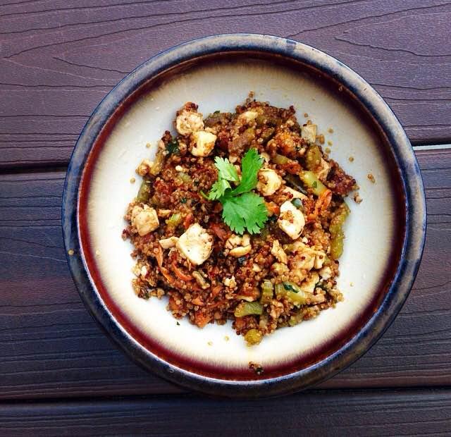 Quinoa Tofu Stir Fry